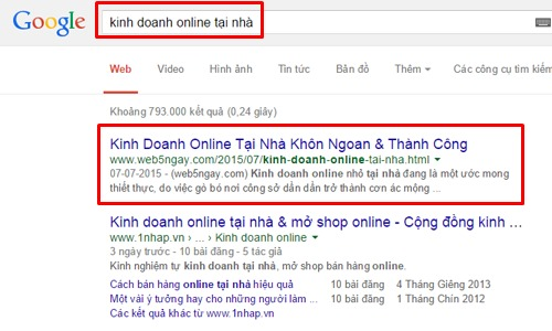 Hướng dẫn kinh doanh online